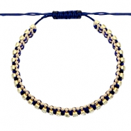 Armbänder Strass Dark blue-crystal