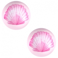 Cabochon Basic 20mm Shell-pink