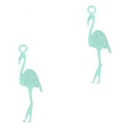 Bohemian Anhänger Flamingo Fresh mint green