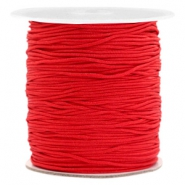 Macramé band 1.0mm Scarlet red