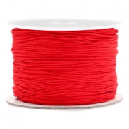 Macramé band 0.5mm Scarlet red