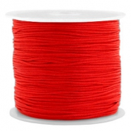 Macramé Band 0.8mm Candy red