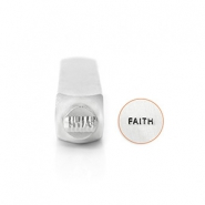 "ImpressArt Figuren Stempel ""Faith"" 6mm Silber"