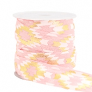 Elastisches Band Azteke Light pink