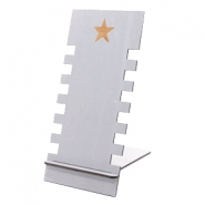 Schmuckdisplay Holz Star Grey