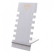 Schmuckdisplay Holz Diamond Grey