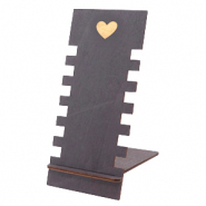 "Schmuckdisplay Holz ""Heart"" Black"