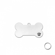 ImpressArt Metall Rohlinge DIY Pet Tag kit Silber