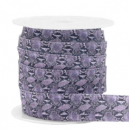 Elastisches Band Snake Lilac-grey