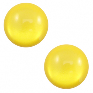 20 mm classic Cabochon Polaris Elements soft tone shiny Empire yellow