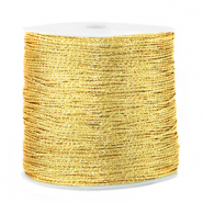 Macramé Band Metallic 0.5mm Cornsilk gold
