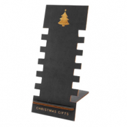 "Schmuckdisplay Holz ""Christmas Gifts"" Black"