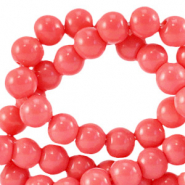 8 mm Glasperlen opaque Sweet virtual pink