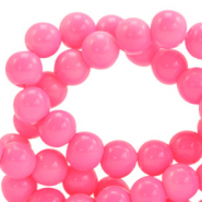 8 mm Glasperlen opaque Azalea pink