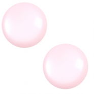 12 mm classic Cabochon Polaris Elements shiny Seashell pink