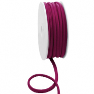 Gestepptes Elastisches Band Ibiza Velvet purple