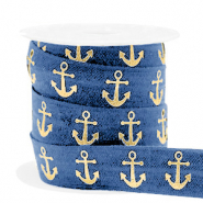 Elastisches Band Anker Blue-gold
