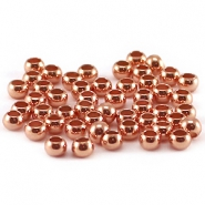 Quetschperlen DQ 3 mm rosegold plated