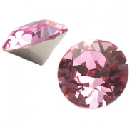 Swarovski Elements chaton SS39 (8mm) light rose