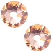 Swarovski Elements flatback 2088-SS34 Xirius Rose light peach