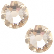 Swarovski Elements flatback 2088-SS34 Xirius Rose silk beige