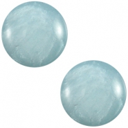 Cabochon Polaris 7mm Mosso shiny haze blue