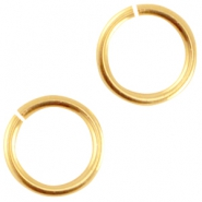 DQ Metall Bindering 6.5mm Gold (nickelfrei)