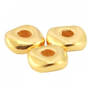 DQ Metall Perle 4.8x1.9mm Gold (nickelfrei)