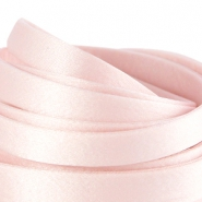 Seidenband DQ flach 10mm Light rose