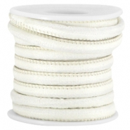 Trendy Jean-Jean Kordel gesteppt 6x4 mm Light beige