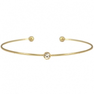 Armband Metall Diamant Gold