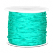Macramé band 0.7mm Turquoise green