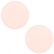7 mm flach Cabochon Polaris Elements matt Powder pink