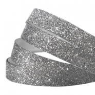 Crystal Glitzer tape 5mm Anthrazit
