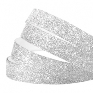 Crystal Glitzer tape 5mm Silver