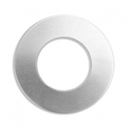 ImpressArt Stempel Labels Ring 25mm Aluminium Silber