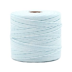 Nylon S-Lon Kordel 0.6mm Soft sky blue