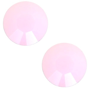Swarovski Elements SS34 flat back (7mm) Rose alabaster